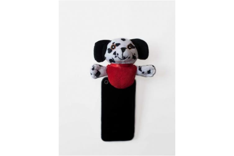 (DAL003, White) - Shutter Huggers DAL003 Mini Shutter Hugger for Portable Video Devices, Dalmatian (White)