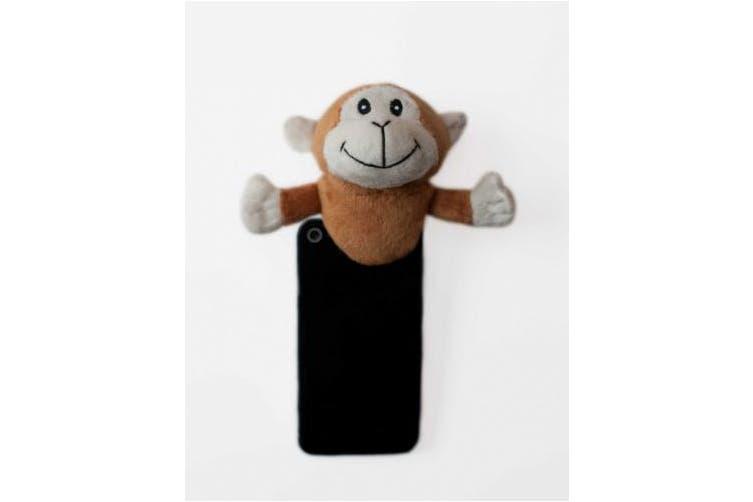 (MON003, Brown) - Shutter Huggers MON003 Mini Shutter Hugger for Portable Video Devices, Monkey (Brown)