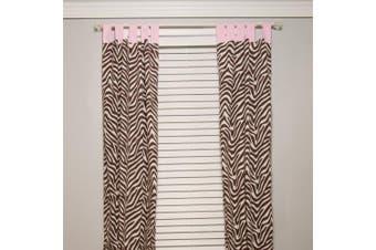 (Zara Zebra) - Pam Grace Creations Curtain Panels, Zara Zebra