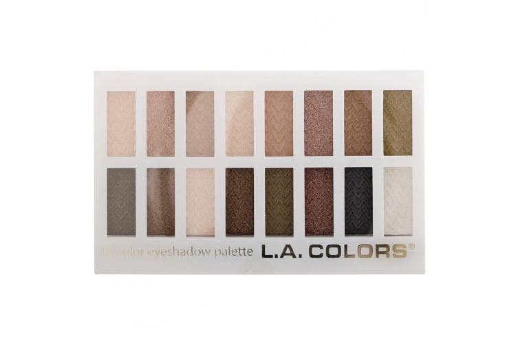 La Colours 16 Colour Eyeshadow Palette Sweet