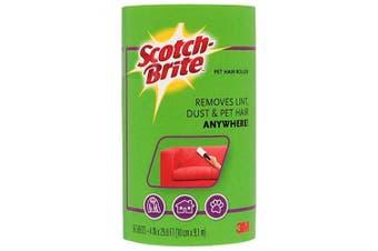 3M Scotch-Brite Pet Lint Roller Refill 56 Sheets