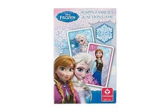 Disney Frozen Happy Families Card Game