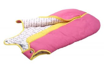 (Small (0-6 Months), Candy Pink) - Baby Deedee Sleep Nest Baby Sleeping Bag, Candy Pink, Small (0-6 Months)