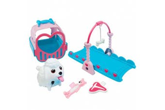 Chubby Puppies See Saw Mini Playset Plus Carrier