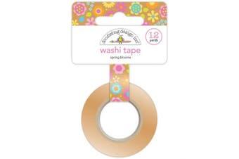 (Spring Blooms) - Doodlebug Washi Tape 15mmX12yd