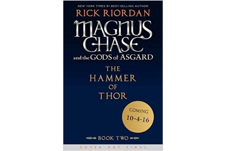 Magnus Chase and the Gods of Asgard, Book 2: The Hammer of Thor (Magnus Chase and the Gods of Asgard)