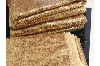 (340cm ) - 340cm Round Sparkly gold Sequin Table Cloth Sequin Table Cloth,Cake Sequin Tablecloths, Sequin Linens for Wedding