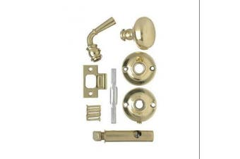 (1) - Wright Products V2200BR Screen Door Mortise Style Latch Brass Plated