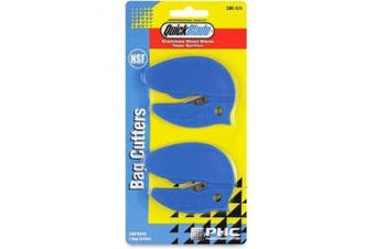 (1, classic) - Phc Raze Safety Bag Cutter - Blue - Stainless Steel, Plastic