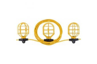 Bayco SL-7408 10-Light String Light with Non-Metallic Lamp Guards, 30m