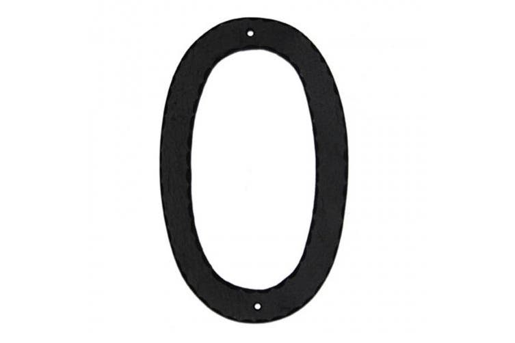 (8) - Montague Metal Products CSHN-8-10 25cm Standard Modern Font Individual House Number 8