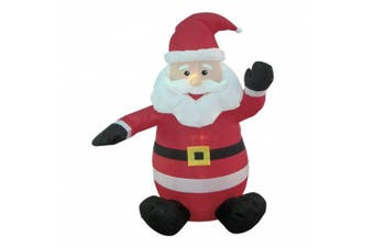1.2m Christmas Inflatable Santa Claus Blow-Up Yard Decoration