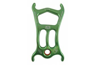 (5 x 5.1cm  x 1cm , Green) - Sterling Rope ATS Device