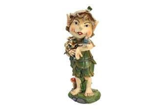 (Pixie) - Design Toscano Pixie Perry Elfin Gnome Garden Statue