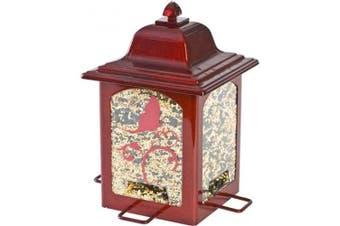 Perky-Pet Red Sparkle Lantern Wild Bird Feeder