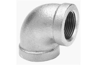 (0.3cm , 1) - Anvil 8700124004, Malleable Iron Pipe Fitting, 90 Degree Elbow, 0.3cm NPT Female, Galvanised Finish