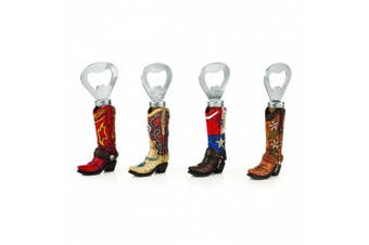 Foster & Rye Rodeo: Assortment of Cowboy Boot Bottle Openers, Silver