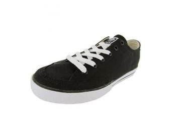 C1RCA Mens 50 Classic Fabric Skate Shoe, Black, US 12