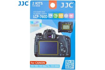 JJC LCP-760D LCD Screen Protector Film for Canon EOS 760D/EOS 8000D Camera