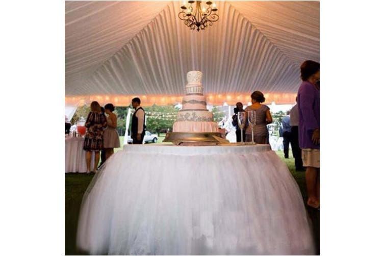 (Style 7) - OLizee™ Romantic Wedding Party Birthday Supply Dessert Station Gauze Decoration(Style 7)
