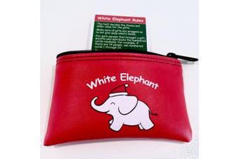 White Elephant Gift Exchange Card Set