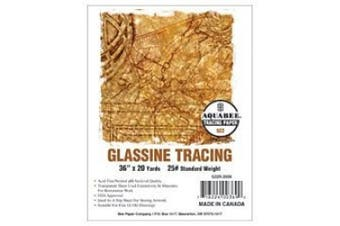 Bee Paper Glassine Tracing Roll, 60cm by 20-Yards
