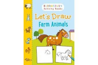 Let's Draw Farm Animals