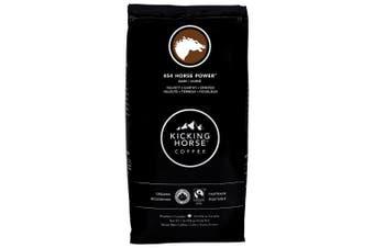 (454 Horse Power, 0.5kg) - Kicking Horse Whole Bean Coffee, 454 Horse Power Dark Roast, 0.5kg