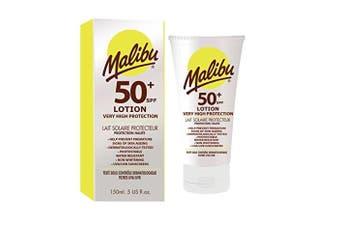 Malibu High Sun Protection Sensitive Skin Lotion with SPF 50 Plus 150ml
