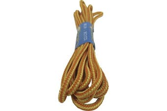 (150cm, Orange - Yellow) - Big Laces Round Hiking Boot Laces - 120cm and 150cm