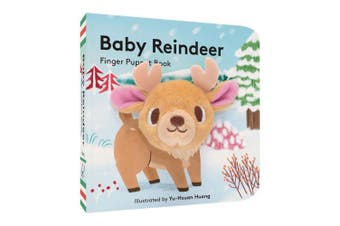 Baby Reindeer: Finger Puppet Book: (finger Puppet Book for Toddlers and Babies, Baby Books for First Year, Animal Finger Puppets)