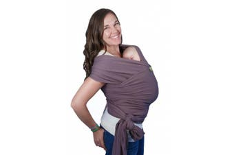(Dark Gray) - Boba Wrap Baby Carrier, Dark Grey Organic - Original Stretchy Infant Sling, Perfect for Newborn Babies and Children up to 16kg