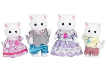 (Family Set) - Sylvanian Families Persian Cat Family Set (Multi-Colour)