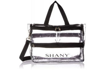 (Game Changer) - SHANY Clear Travel Makeup Bag - Cosmetics Organiser - Game Changer