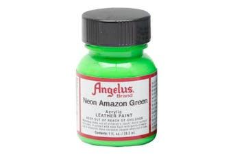 Angelus Leather Paint 30ml Neon Amazon Green