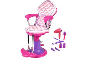 Click n' Play Doll Salon Chair And Accessories. Perfect For 46cm American Girl Dolls