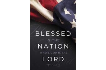 B & H Publishing Group 75237 Bulletin - Blessed Is The Nation Whos God Is The lord