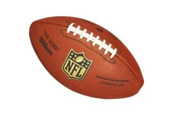 Wilson The Duke Replica NFL American Football, Composite leather replica official NFL ball.