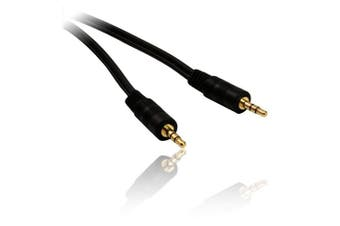 30cm 0.3 mtre 3.5mm Stereo Jack Plug to Stereo Jack Plug Audio Cable Lead Wire Cord