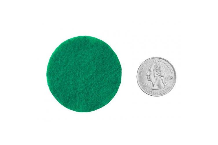 Playfully Ever After 5.1cm Green 44pc Felt Circles