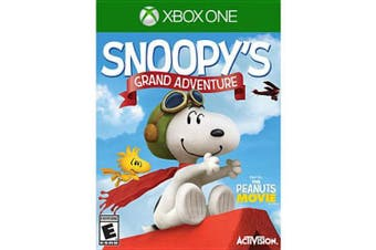 (xbox_one) - Xbox One - Peanuts Movie: Snoopy's Grand Adventure