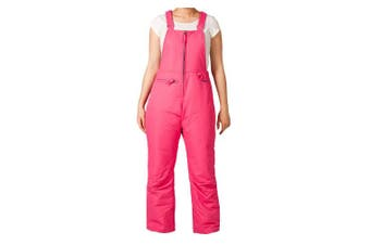 (Medium, Fuchsia) - Arctix Youth Overalls Snow Bib
