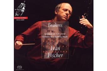 Brahms: Symphony No. 1; Variations on a Theme by Haydn; Hungarian Dance No. 14 [Hybrid SACD]