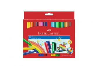 Faber-Castell 20-Connector Pens