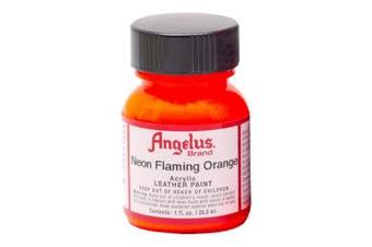 Angelus Leather Paint 30ml Neon Flame Orange