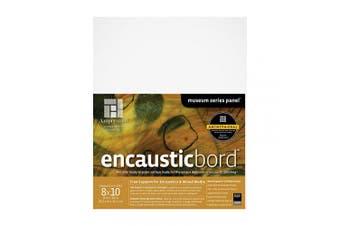 (8X10, 2 Inch Cradle) - Ampersand Encausticbord Hardboard Panel for Encaustics and Mixed Media, 5.1cm Depth Cradle, 20cm X 25cm (ENC20810)