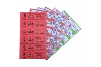 Bingo Tickets 750 5 Page 6 To View Bingo Books