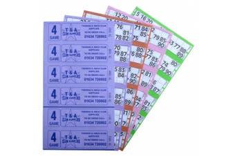 Bingo Tickets 750 4 Page 6 To View Bingo Books