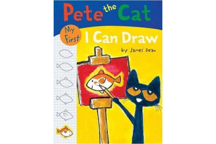 Pete The Cat: My First I Can Draw (I Can Read Level 1)