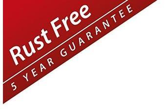 (Large Storage Basket) - Croydex Rust Free Stick 'N' Lock Plus Large Storage Basket, Metal, Silver